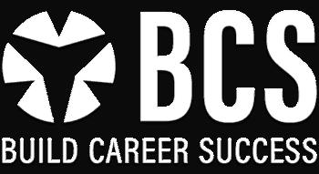 BCS logo White